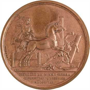 Premier Empire, la bataille de Sommo Sierra et l'abolition de l»Inquisition en Espagne, 1808 Paris
