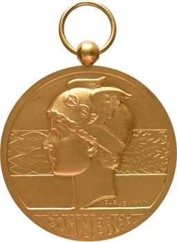 Haute-Volta, médaille du mérite de la Chambre de commerce, par Rasumny, s.d. Paris
