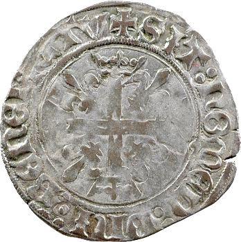 Charles VIII, dizain karolus, Tours