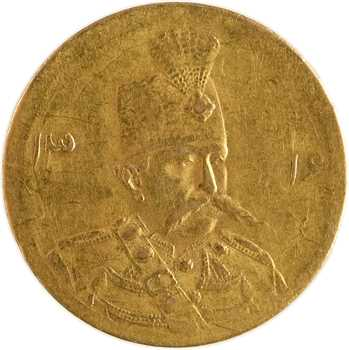 Iran, Muzaffar al-Din Shah, 1/2 toman, AH 1316 (1899) Téhéran