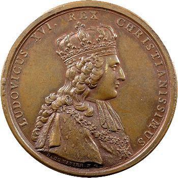 Louis XVI, Sacre du Roi et vœux de la ville de Troyes, 1775