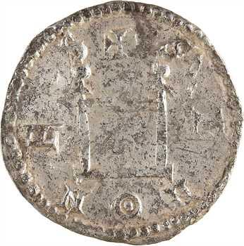 Louis le Pieux, denier au portrait, Sens, c.814-819