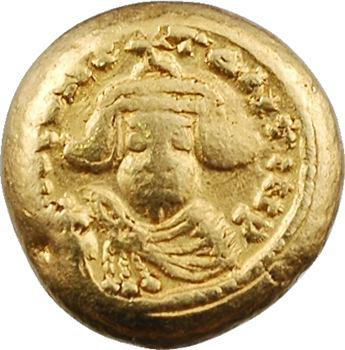 Constant II, solidus globulaire, Carthage, 641-645