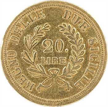 Italie, Naples et Deux-Siciles (royaume de), Joachim Murat, 20 lire, 1813 Naples