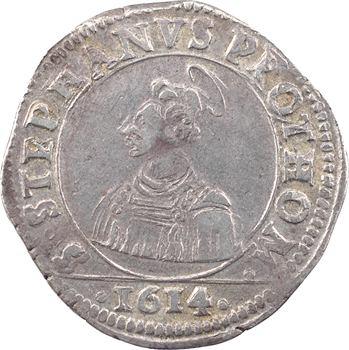 Metz (ville de), franc messin de 12 gros, 1614 Metz