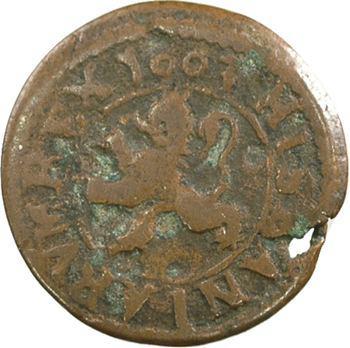 Espagne, Philippe III, 2 maravedis, 1603 Ségovie