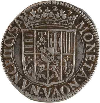 Lorraine (duché de), Charles IV, teston, 1627 Nancy