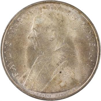 Vatican, Paul VI, 500 lire, 1967 (An V) Rome