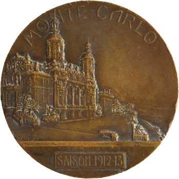 Monaco, concours d'hydro aéroplanes par Tony Szirmaï, épreuve d'auteur, 1912 Paris