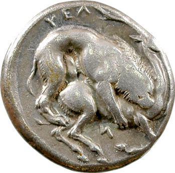 Lucanie, didrachme, Vélia, c.440-400 av. J.-C.