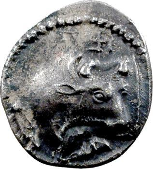 Macédoine, Acanthe, tétrobole, 450-424 av. J.-C.