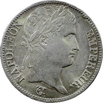 Premier Empire, 5 francs Empire, 1811 Rouen