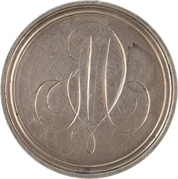 Consulat, médaille de mariage en taille directe, An 8 (1800)