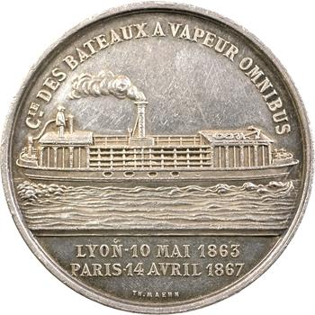 Compagnie des bateaux à vapeur omnibus du Rhône et de Seine, c.1867