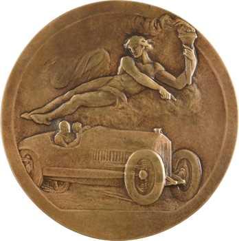 Blin (E.) : modèle pour l'Automobile Club du Var, fonte, s.d