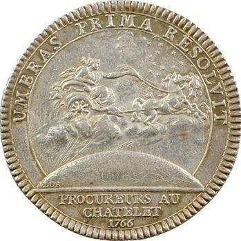 Paris (ville de), Le Châtelet, Procureurs, Louis XVI, 1766 (après 1774)