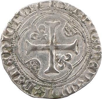 Louis XII, grand blanc à la couronne, cantonnement inversé, Châlons-en-Champagne