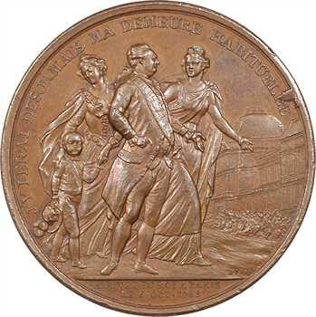 Constitution, arrivée du Roi à Paris le 6 octobre 1789, 1789 Paris
