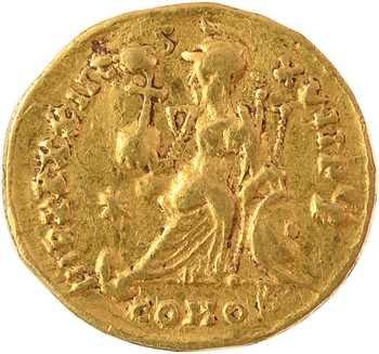 Théodose II, solidus, Constantinople, 402-450