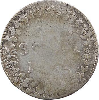 Corse, Pascal Paoli, 20 soldi, 1763 Murato
