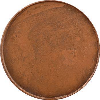 Constitution, Necker, médaille uniface par Duvivier, s.d. (1789) Paris