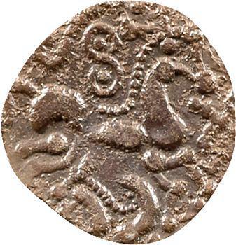 Ambiens, denier lamellaire au sanglier, c.60-50 av. J.-C.