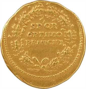 Trajan, aureus, Rome, 103-111