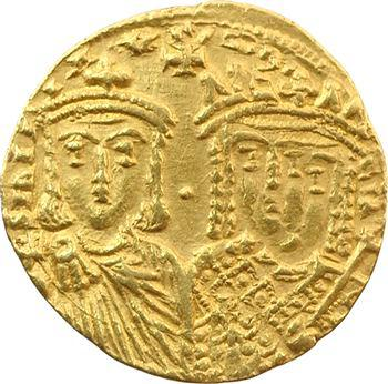Constantin VI et Irène, solidus, Constantinople, 780-797