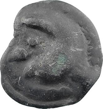 Haute et moyenne Seine, potin à la tête humaine, c.75-50 av. J.-C.
