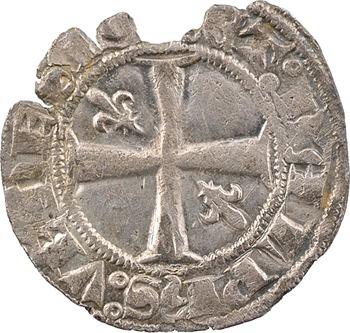 Dauphiné, Viennois (dauphins du), Charles Ier dauphin et Roi (Charles V), pièce de 18 deniers 1er type