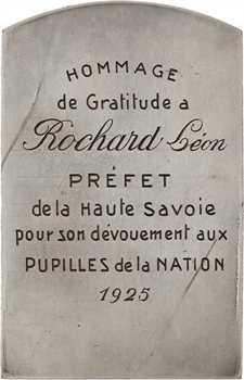 Vernier (E.-S.) : Pupilles de la Nation, hommage au préfet Léon Rochard, 1925