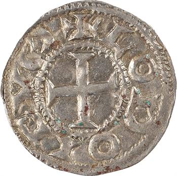 Saintes (comté de), au nom de Louis IV, denier immobilisé, Saintes, s.d. (c.975)