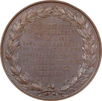 Louis XVIII, les exploits de l'armée française, par Droz, 1819 Paris