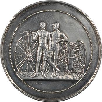 IIIe République, course cycliste de Dol-de-Bretagne, 1890 Paris