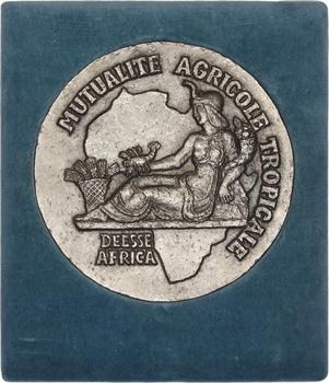 Afrique, Mutualité Agricole Tropicale, fonte uniface, s.d