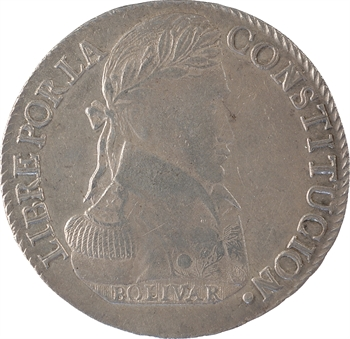 Bolivie (République de), 8 soles, 1839 Potosi
