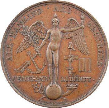Louis-Philippe Ier, hommage du peuple français à la nation anglaise, par Gayrard, 1830 Paris