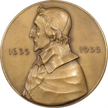 Dammann (P.-M.) : Richelieu et le tricentenaire de l'Académie Française, dans sa boîte, 1635-1935 Paris