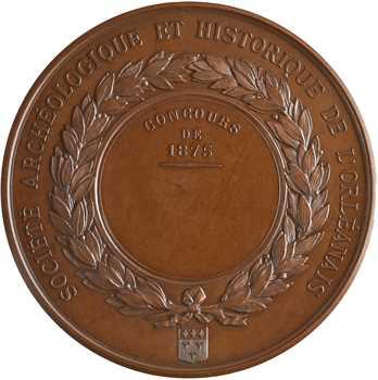 IIIe République, concours de la Société Archéologique d'Orléans, par Andrieu, 1875 Paris
