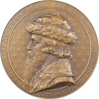 Deschamps (L.) : Johannes Gutenberg, s.d. Paris