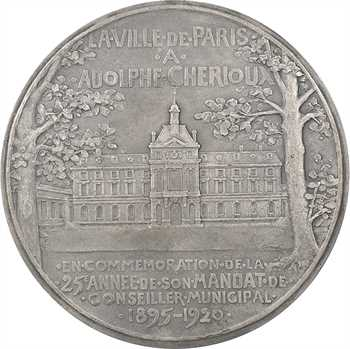 Pillet (C.) : Adolphe Chérioux, conseiller municipal, 1920 Paris