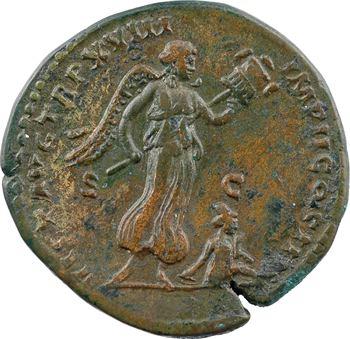 Marc Aurèle, sesterce, Rome, 164