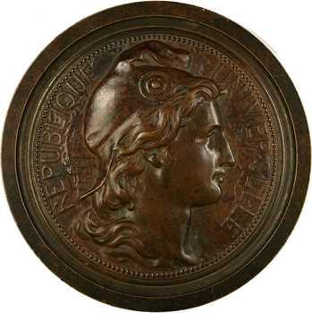 Janvier et Tasset : hommage à Jacques France, Gambetta, l'Alsace et la Lorraine (franc-maçonnerie), 1884 Paris