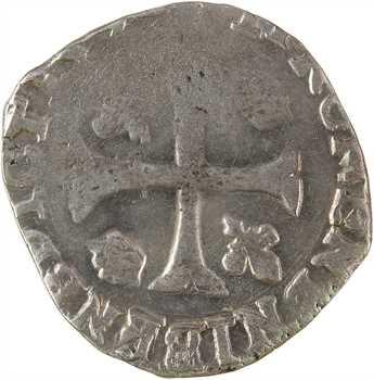 Henri IV, douzain aux 2 H couronnées, 3e type, 159? Sisteron