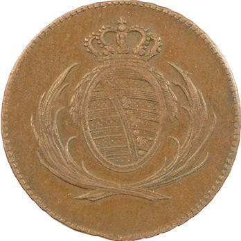 Allemagne, Saxe, Frédéric-Auguste Ier, 4 pfennig, 1808 Dresde