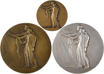 Delannoy (M.) : lot de 3 médailles de mariage, 1902-1945 Paris