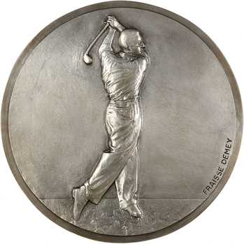 Fraisse-Demet (F.) : Golfeur, fonte, s.d