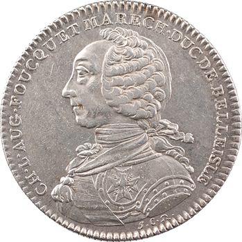 Bretagne, Charles-Louis-Auguste Foucquet, gouverneur de Belle-Île, 1760 Paris