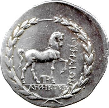 Eolide, tétradrachme, Kymé, IIe s. av. J.-C.