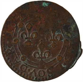 Ardennes, Charleville (principauté de), Charles II de Gonzague, double tournois 23e type, 1642 Charleville